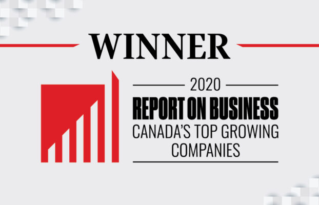 Parity Inc. places No. 50 on The Globe and Mail's second-annual ranking of Canada's Top Growing Companies